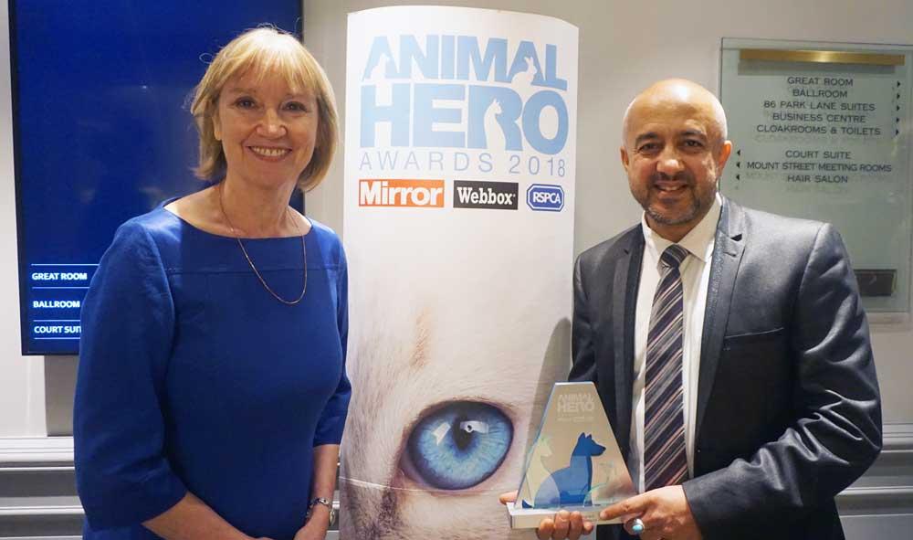 animal hero awards